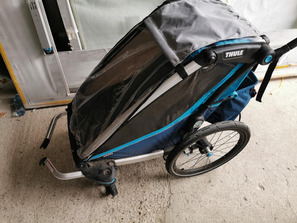bike trailer, children, rent, krk